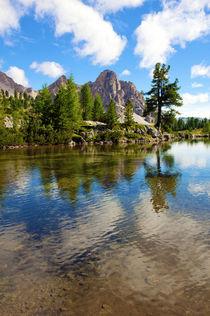 Mountain Lake by aremak