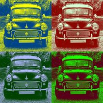 Morris Car in Pop Art by aremak