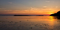Sunset at Loch Bay von David Pringle