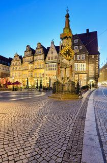 The Statue of Roland in Bremen, Germany von Michael Abid