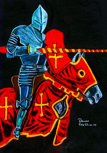 The Jouster by dawn Davies