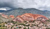 Cerro de los Siete Colores - cloudy sky von Steffen Klemz