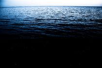 dark scary sea still water by Elena Laska