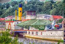 Raddampfer auf der Elbe von fraenks