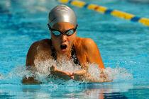 breaststroke swimming by Bor Rojnik