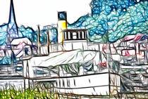 Raddampfer auf der Elbe 2013 von fraenks