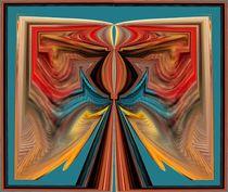Farbfluss im Einklang von Ingrid Eichhorst