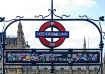 London - Westminster Station von Leopold Brix
