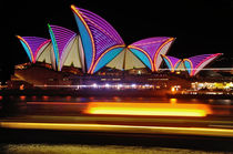 VIVID SYDNEY by Kaye Menner - OPERA HOUSE ... Patterns  by Kaye Menner