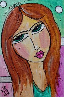 """Noelle"" by Silke Heil-Sandberg"