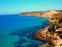 Steilküste bei Burgau/Algarve von jefroh