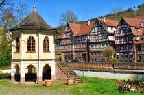 Fachwerkhäuser und Pavillion in Calw  by Matthias Hauser