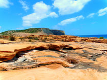 Portugisesche Felslandschaft (Algarve) by jefroh