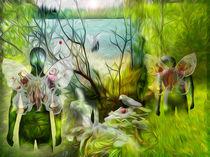 Die gefallenen Engel im GARTEN von David Renson