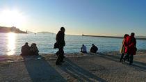 People in Marseille by blackscreen