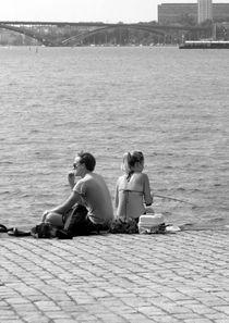Sitting on the dock of the bay von Karsten Hamre