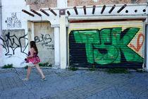 Cancun Graffiti by John Mitchell