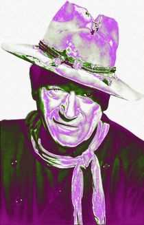 John Wayne in The Man Who Shot Liberty Valance von Art Cinema Gallery