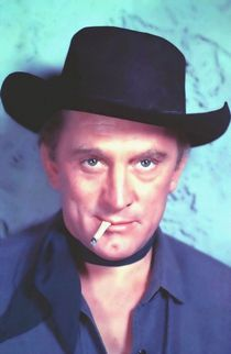 Kirk Douglas in Man Without a Star by Art Cinema Gallery