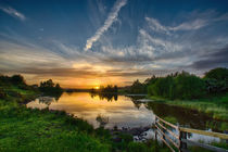 Knapps Loch Sunset by Sam Smith