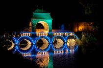 Lichtspiele, brücke, Illumina, Schloss Dyck by Aris Grigoriou