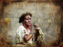 Medieval Scene - The Beggar von barbara orenya
