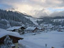 Wintermorgen von Fanny Prankl