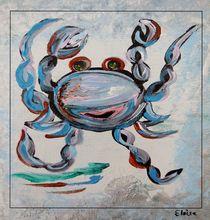 Blue Crab Dancing by eloiseart