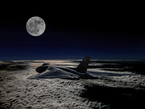 Vulcan at night: Black Buck 1 by P M
