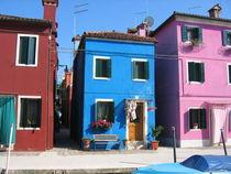 bunte Häuser von Fanny Prankl