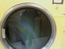 LAUNDRY MAT BORED #2 by Nora Lem