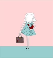 girl and bag by thomasdesign