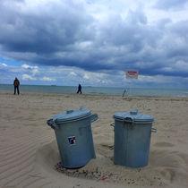 Strand-poubelles-grises