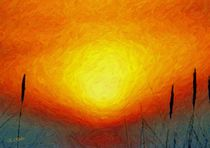 Poesie des Lichts - Sonnenglut by Eckhard Röder