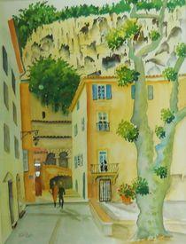 Cotignac, Provence von Theodor Fischer