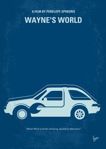 No211 My Wanyes World minimal movie poster by chungkong