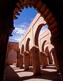 Tin Mal mosque High Atlas mountains Morocco  by Sean Burke