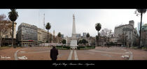 Panorama Plaza de Mayo - Argentina by Victor Cavalera