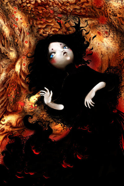 Coal-doll