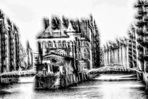 Water Castle in Hamburg's HafenCity -SW by fraenks