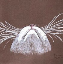 Just the Cat's Whiskers by dawn Davies