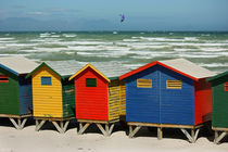 southafrica ... muizenberg beach huts II von meleah