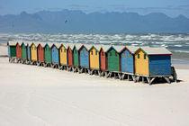 southafrica ... muizenberg beach huts III by meleah