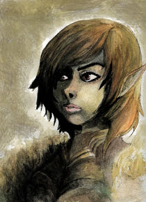 Wild Elf General by Rebecca Swenson