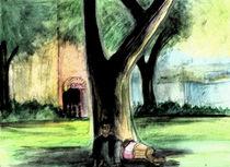 Rittenhouse Park Nap von Rebecca Swenson