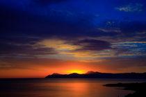 Sonnenaufgang Son Paulo von Alfred Derks