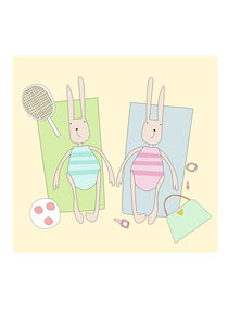 beach bunnies by thomasdesign