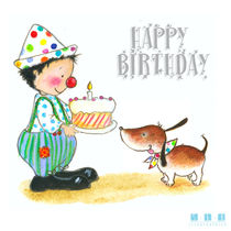 Happy Birthday Mister Dog von sarah-emmanuelle-burg