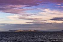 Abendhimmel über der Galway Bucht von Karsten Müller