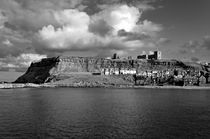The Imposing East Cliff, Whitby von Rod Johnson